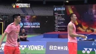 Yonex Open Chinese Taipei 2015   Badminton SF M4-Lee/Yoo vs Fu/Zhang