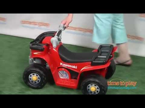Power Wheels Kawasaki Lil' Quad From Fisher-Price