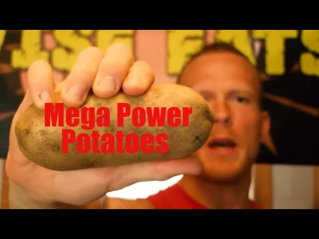 Wise Eats - Mega Power Potatoes (Baked Potato Recipe, Healthy Carbohydrate Snack)