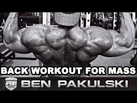 Back Workout For Mass - Optimally Work out Your Back