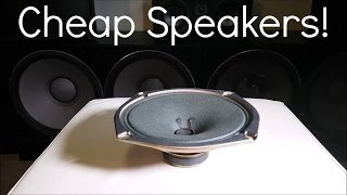 Blowing Cheap Speakers!