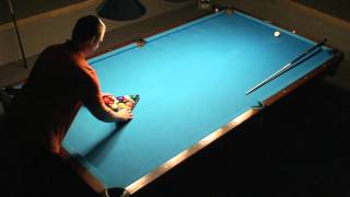 8 Ball 10 foot Brunswick Ghost Challenge 7-0 Amazing Runouts