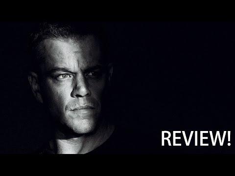 Jason Bourne - Movie Review   Brandon Wang