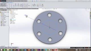 SolidWorks circular pattern