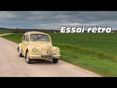 Essai rétro : la Renault 4CV de 1961