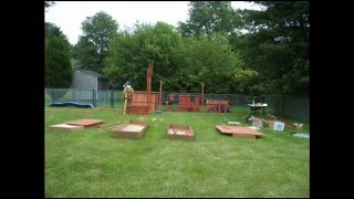2008 Sunray Premium Playground Installation Time Lapse
