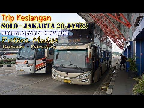 KENGERIAN LUAR BIASA! SOLO-JAKARTA 20 JAM!!, Trip Double Deck Putera Mulya KTS-Pulgeb [Part 2]