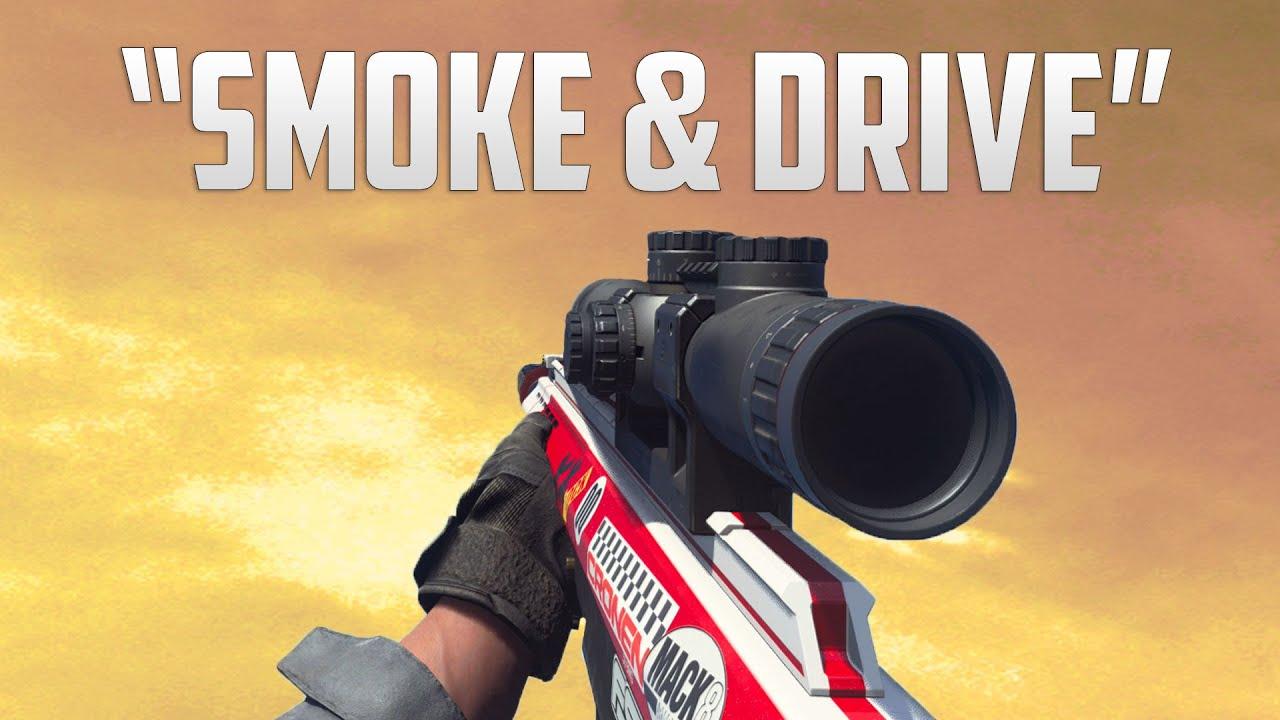 """SMOKE & DRIVE"" Modern Warfare Sniping Montage"