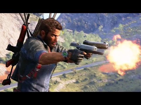PS4 - JUST CAUSE 3 Gameplay Trailer [E3 2015]