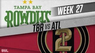 Tampa Bay Rowdies vs Atlanta United 2: September 15, 2018