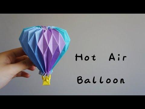 Origami Tutorial Hot Air Balloon Yuri Katrin Shumakovhello