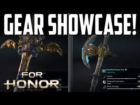 [For Honor] Warden/Lawbringer Season 5 Gear Showcase!