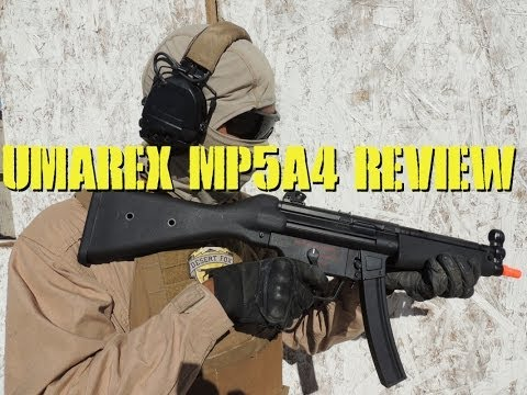 Umarex fully licensed H&K MP5A4 Review with Jet DesertFox