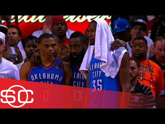 What if Russell Westbrook, Kevin Durant and James Harden had stayed together?   SportsCenter   ESPN