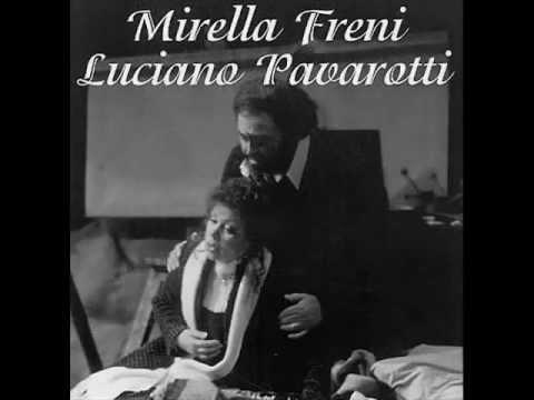 Pavarotti & Freni - Puccini - La bohème - arias + duetto (atto I)