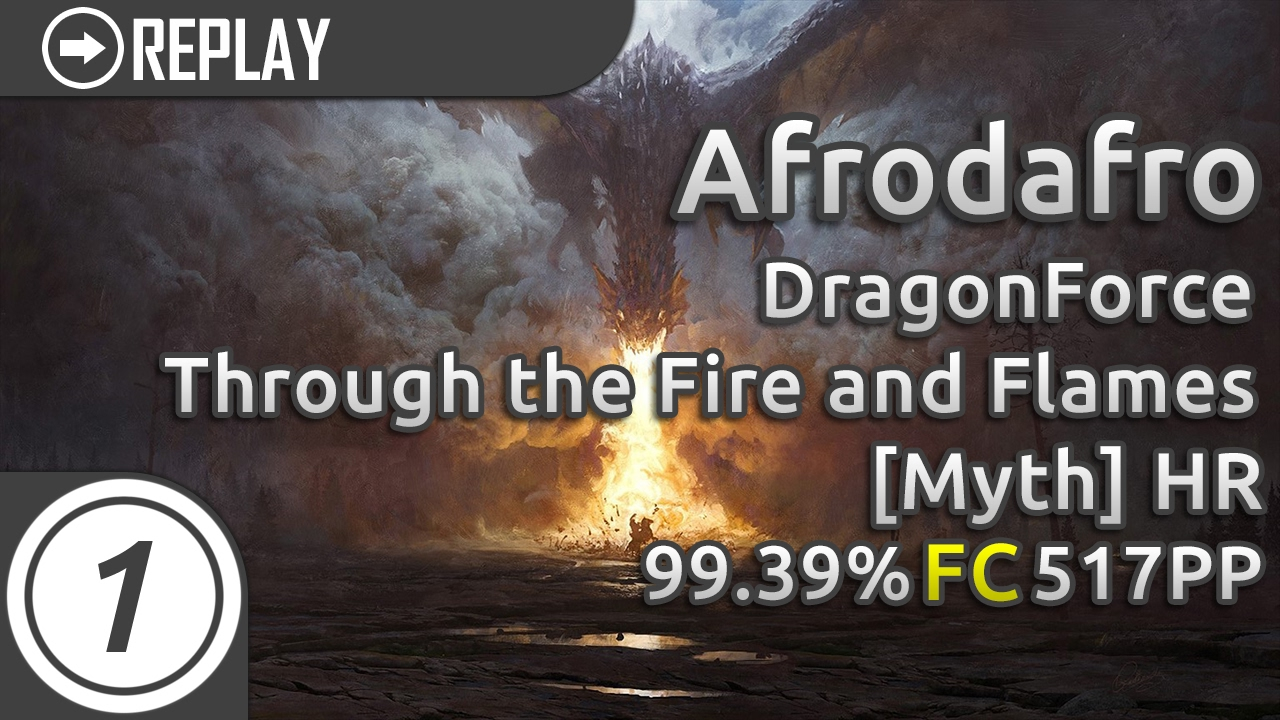 Afrodafro | DragonForce - Through the Fire and Flames ...