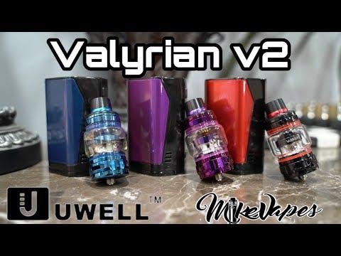 Uwell Valyrian v2 Tank Kit - Triple 18650 300w Mod