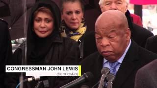 Emmett Till Tree Memorial - Congressman John Lewis