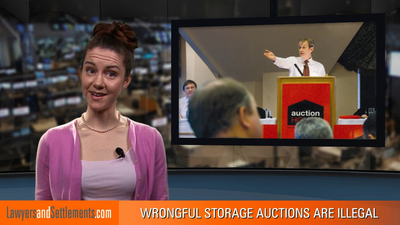 Wrongful Self Storage Auctions