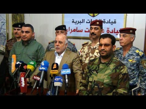 PM ABADI expected to announce full liberation within hours???????