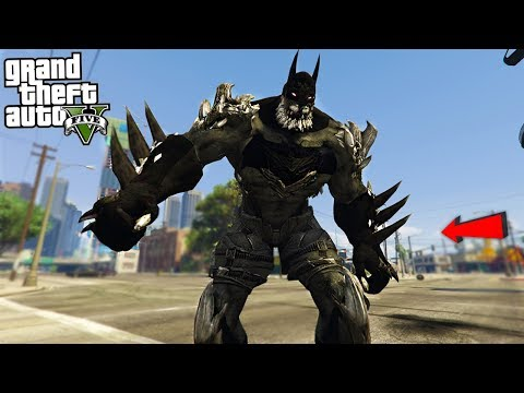 BATMAN DOOMSDAY - GTA 5 Mods