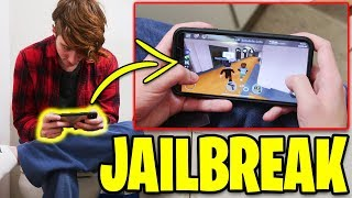 Roblox Jailbreak MOBILE CHALLENGE on my NEW PHONE! (iPhone XS Max)