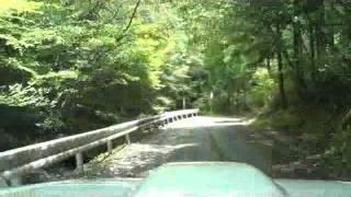 【棧敷峠&落合峠】徳島県三好郡東みよし町~三好市(2012.08.13)