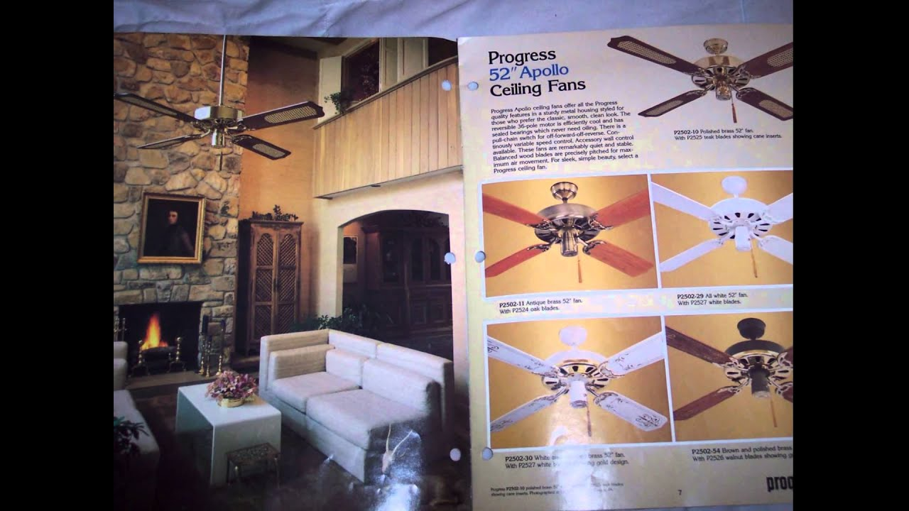Progress Lighting Ceiling Fan Catalog & Progress Lighting Ceiling Fan Catalog - YouTube azcodes.com