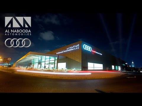 Dubai Event Videography for Al Nabooda Audi service launch | Directors cut