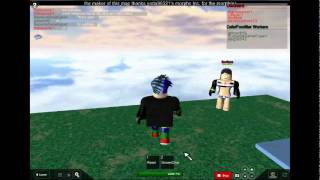 ROBLOX how 2 skydive