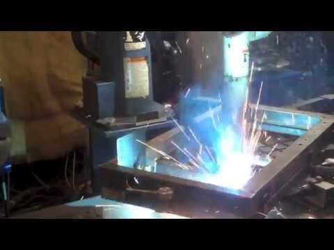 видео: Предлагаем услуги роботизированной сварки