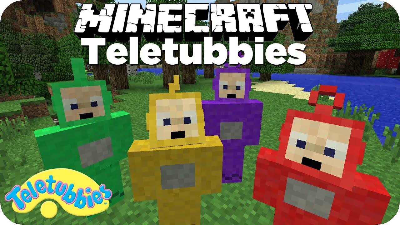 Minecraft Teletubbies Mod De Youtube