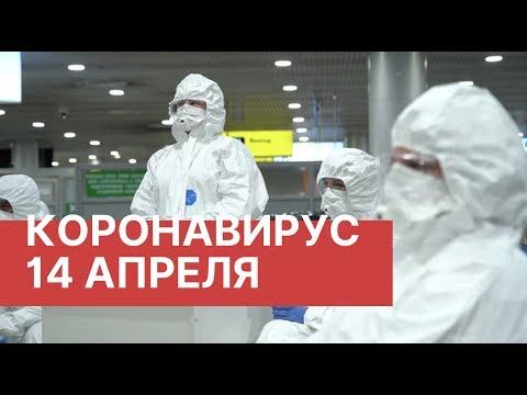 Коронавирус. Последние новости 14 апреля (14.04.2020). Коронавирус в России сегодня. COVID-19