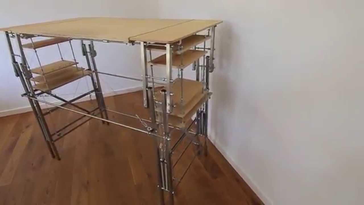 springlift: DIY sit-stand desk