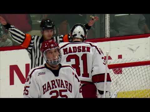 Recap: Harvard Men's Ice Hockey vs. Yale - Nov. 3, 2017