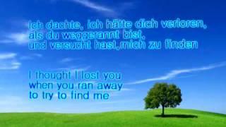 Miley Cyrus & John Travolta - I Thought I Lost You (Lyrics + german translation)
