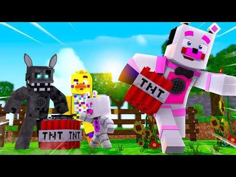 TNT Games Challenge! Minecraft FNAF Roleplay