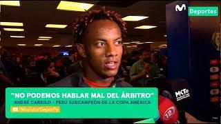 André Carrillo habló sobre el arbitraje de la final de Copa América 2019 | BRASIL 3-1 PERÚ