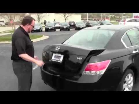 Used 2009 Honda Accord EX-L V6 for sale at Honda Cars of Bellevue...an Omaha Honda Dealer!
