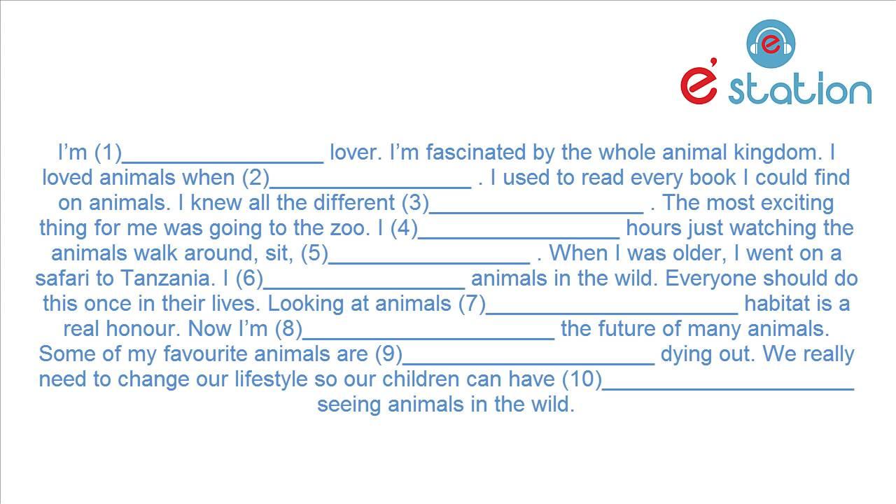 Bài nghe: 11. Animals