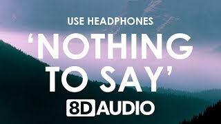 Y.V.E. 48 - Nothing To Say (8D AUDIO) 🎧 feat. LissA