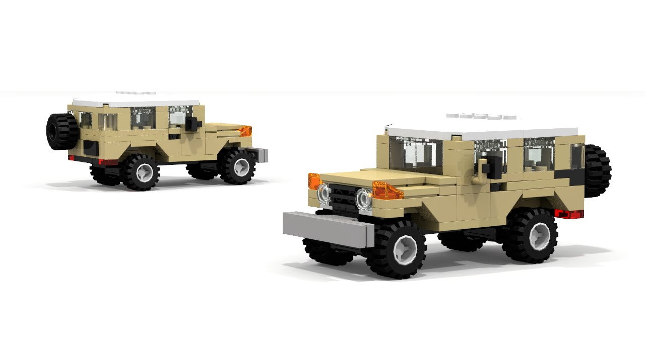 LEGO Toyota FJ40 Instructions YouTube