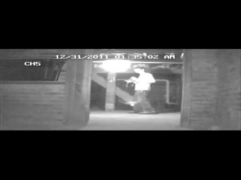 Old Hollis Inn Item being thrown
