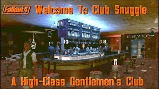 Welcome To Club Snuggle-Fallout 4's High Class Gentlemen's Club