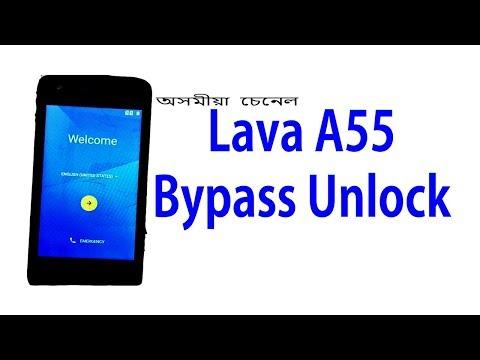 Lava A55 Frp Unlock / Lava A55 Bypass Unlock / Without Pc Frp Unlock.