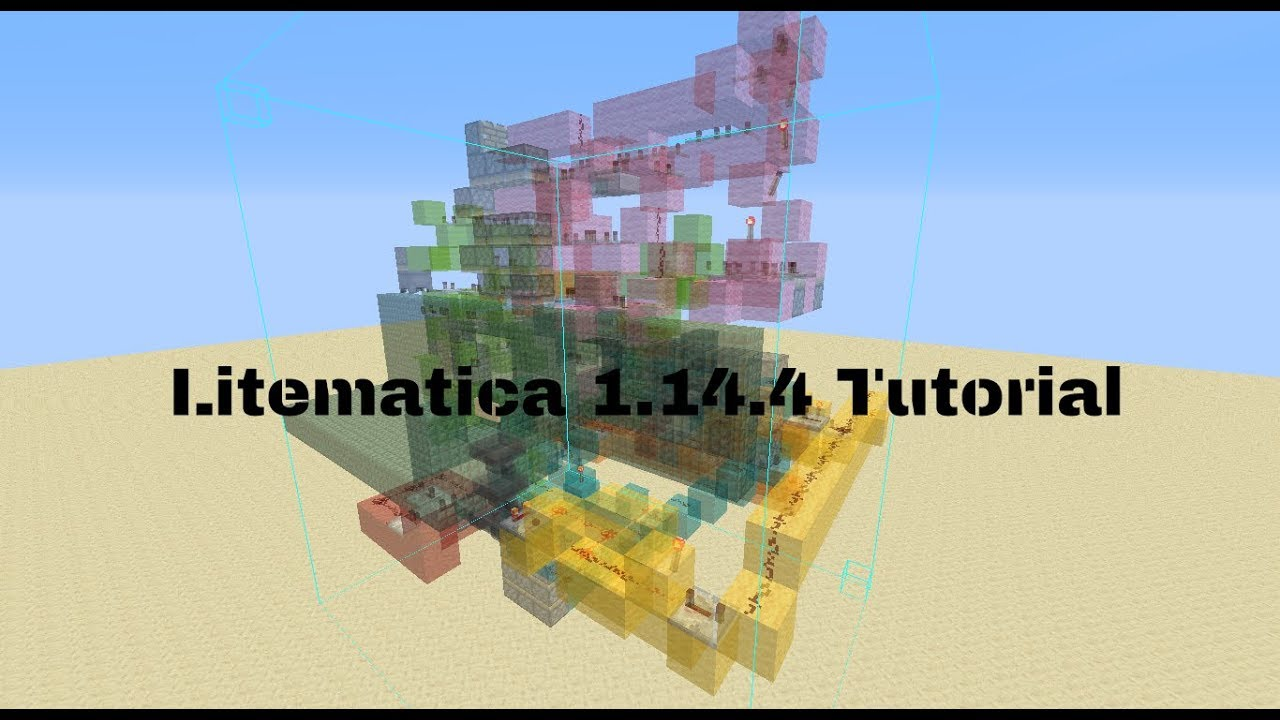 How to use Litematica 1 14 4
