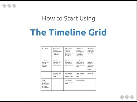 How to Start Using the Timeline Grid by Kathryn Grant