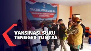 Vaksinasi Suku Tengger di Desa Penyangga Wisata Bromo Tuntas