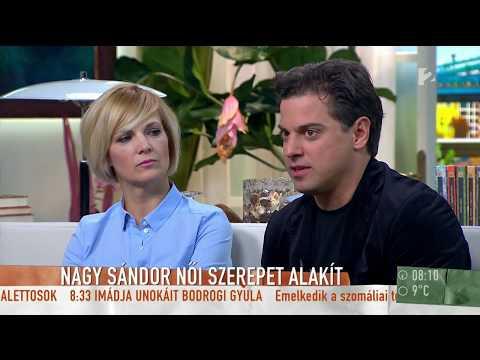 Nagy Sándor több, mint tíz szerepet játszik a Hitchcock-film adaptációjában - tv2.hu/mokka