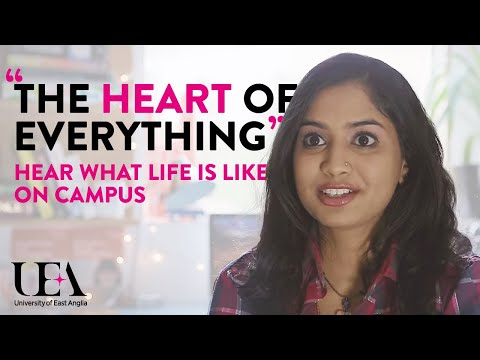 Campus Life | University of East Anglia (UEA)
